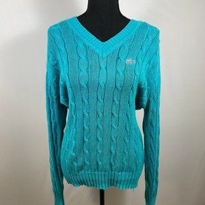 Vintage Lacoste Izod Collection V-Neck Sweater